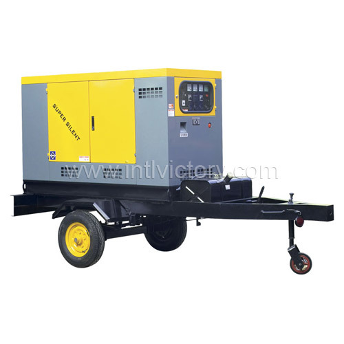 10kVA~200kVA Soundproof Movable Generator Sets