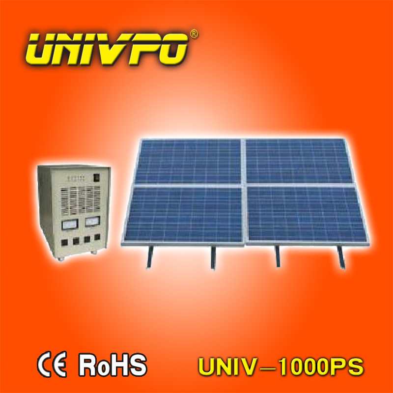 1kw off Grid Solar Power Generator System for Home (UNIV-1000PS)