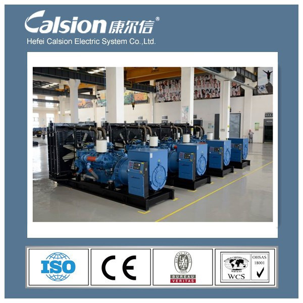Hefei Calsion Mtu Power Electric Generator for Sale