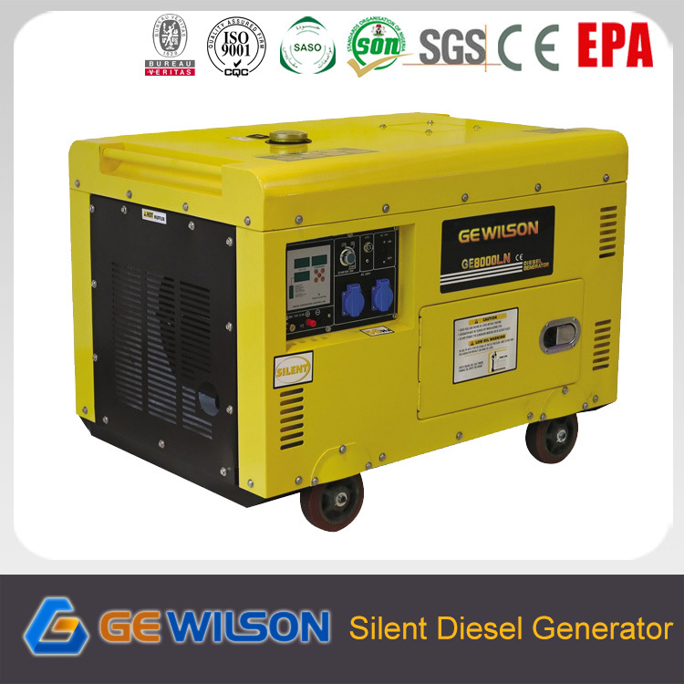 8kw Silent Type Diesel Generator with ATS Optional