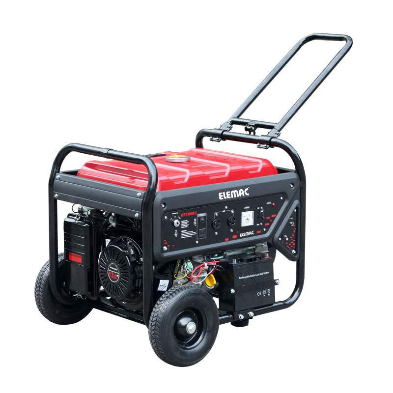 6.5kw R Line Gasoline Generator with Electric Starter