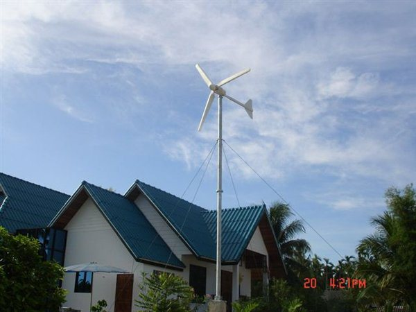 Small Wind Turbine for House 1000W-3000W Permanent Magnet Generator Price