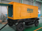 Factory Direct Sale 280kw/350kVA 4 Wheels Diesel Generator Pirce (GDC350*S)
