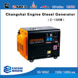 3kw Air Cooled Silent Diesel Generator, Small Portable Generator