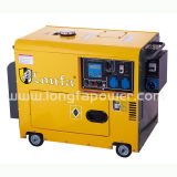 6.5kVA Portable Single Phase Diesel Generator with CE Soncap