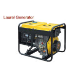 2 kVA Small Diesel Generator with Wheels Electric or Recoil Start