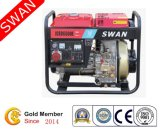 Swan Brand 3kw Open Frame Air Cooled Diesel Portable Generator (JCED3500L)