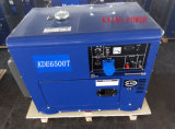 AC Single Phase 50Hz/4.2kw Silent Diesel Generator for Shop and Home Use