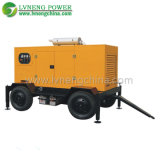 Lvneng Mobile Power Diesel Generator with Silent Canopy