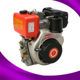 Small Marine 4-Stroke Air Cooled Diesel Engine with Vertical Type