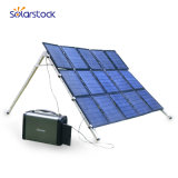 Portable Solar Generator with Home System