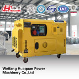 Small Electric 10kVA Generator with Wheels