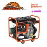 220V, 50Hz, Open Design, Portable Diesel Generator (AD6500)