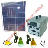 80W Solar Photovoltaic Kit for Home Use