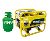Tencogen 2-6kVA Open/Silent Type Portable LPG Generator with Electric/Hand Start for Home Use