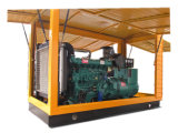 Four Wheels Trailer 200kw Diesel Generator