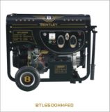 7kw Square Tube Line Gasoline Generator with Electric Starter