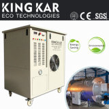 Hho Gas Generator for Diesel Generator Stimulate Fuel Burning.