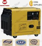 2%off Promotion! ! ! Air Cooled, 3phase& AMP; 1phase, 6kVA, 5kw Portable Diesel Generator