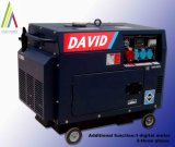 Silent Diesel Generator with Digital Meter