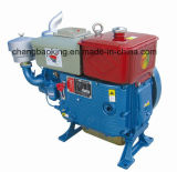 Single Cylinder Water-Cooled Diesel Engine with ISO9000