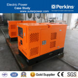 15kVA/12kw Perkins Silent Diesel Generator with Soundproof Container