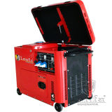 6.5kw Kama Type Single Phase Super Silent Portable Diesel Generator