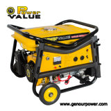 Power Value Taizhou Hot Sale Portable Gasoline Generator 2500 2kw 5.5HP 168f-1