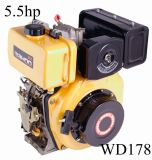 6HP 3600rpm Yanmar L70V CE Approval Diesel Engine (WD178)