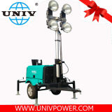 4X1000W Metal Halide Mobile Diesel Generator Light Tower (UD8LT)