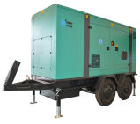 Googol Silent Trailer Diesel Generator 200kw 250kVA with ATS