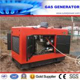 50kVA/40kw Silent Natural Gas Generator with Soundproof Container