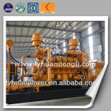 CE ISO 500kw-5MW Gas Power Plant Natural Gas Engine Powered Electric Generator Set