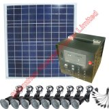 50W Solar Power System for Home Electrical Appliances