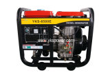 7kw Small Air-Cooled Open Type Diesel Generator with High Quality