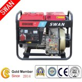 Swan Brand 5kw Electric Start Power Open Portable Diesel Generatorwith Three-Phase (JCED6500E-3)
