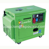 South Africa 5kw 5kVA Silent Type Key Start Power Diesel Generator