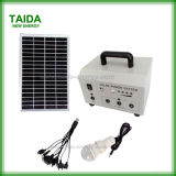 Mini Solar System for LED Lightings & Mobile Phone Charging (TD-10W)