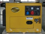 8KVA Air Cooled Single Cylinder and 3-Phase Diesel Silent Generator