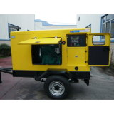 20kw 25kVA Trailer Movable Silent Generator with CE and ISO