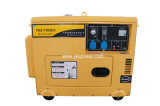 5.5kw Small Air-Cooled Silent Type Diesel Generator with ATS