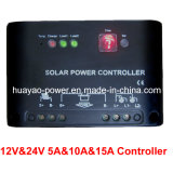 12V and 24V 5A Solar Charging Controller with PWM Design