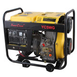 Silent Power Electric 4-Stroke Diesel Generator Yc6500xe