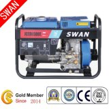 5kw Open Frame Air Cooled Portable Diesel Generator Set (JCED6500L)