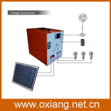 Mini AC Generator Solar DC for Home System Lighting Laptop TV Computer