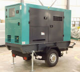 Trailer Station Generator Set with Electric Speed Controller