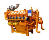 50Hz 1500rpm Googol Biogas Engine for Generator 160kw-1450kw