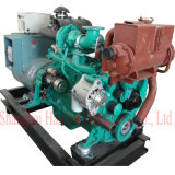 Cummins 6BT5.9-GM Engine with Marathon MP-H-75-4 Alternator 75kw Marine Genset