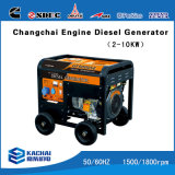 Gf6500j 5kw Air Cooled Silent Diesel Generators