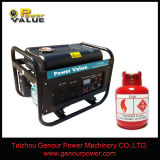 2kw 2.5kw 3kw 5kw 6kw Natural Gas Generator, Small LPG Generator for Home Use